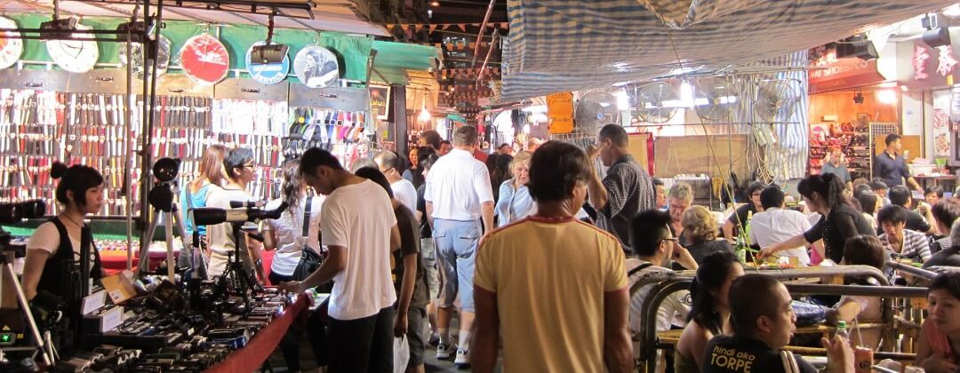 Night Market – Temple Street (Kowloon)