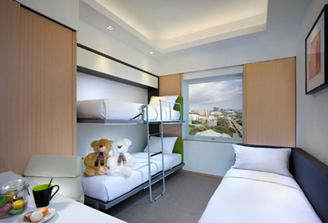 Kinderkamer van een Family Room - Hotel L01, Kowloon, Hong Kong, S.A.R. China