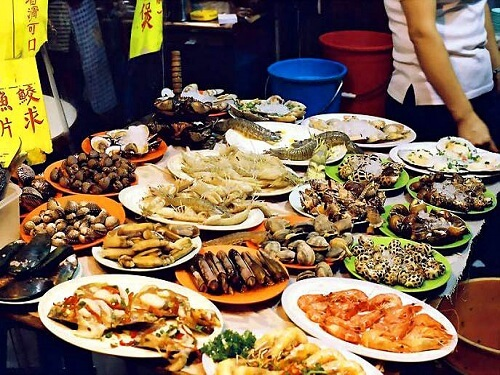 Seafood stand - Lei Yue Mun Village - Hong Kong, S.A.R. China