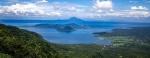 Uitzicht Taal Meer en Taal Vulkaan - Tagaytay, Luzon, Filipijnen