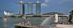 Merlion & Marina Bay Sands Hotel met het Skypark - Singapore
